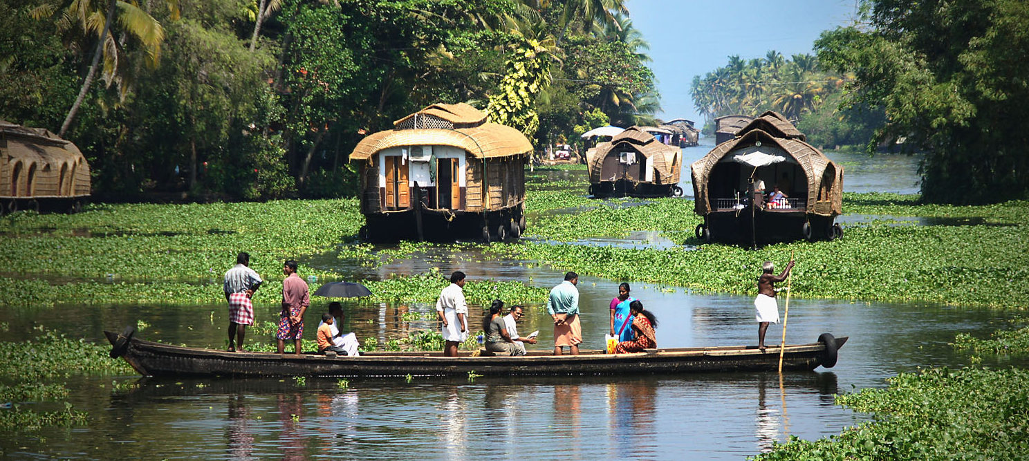 Image result for kerala boating backwaters